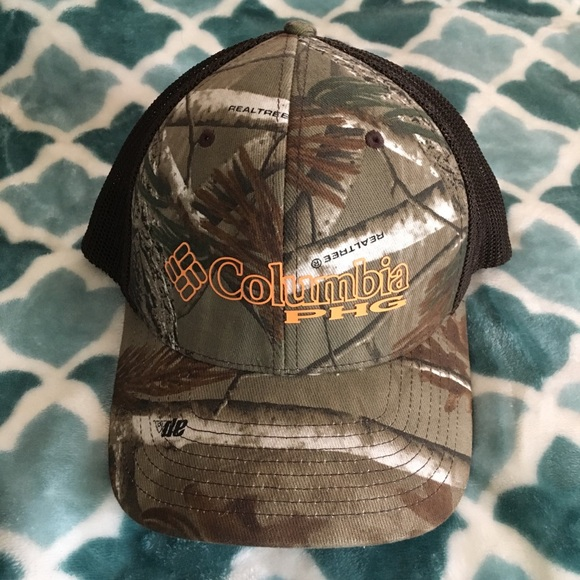 9b16686263247 Camo Columbia Fitted Hat